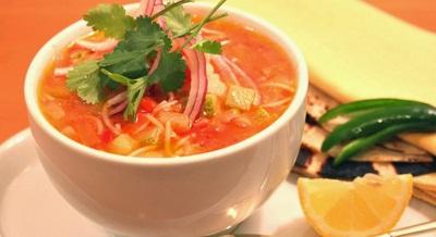 سوپ سبزیجات با ورمیشل