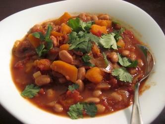 خوراک لوبیا چیتی گیاهی